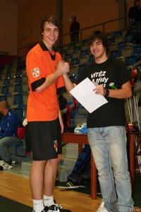 nejlepší hráč Alexandar Mijič (Braňany)